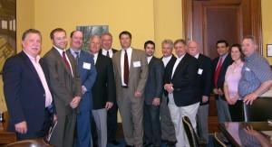 Twelve NWDA members met with Patrick Woodcock, legislative assistant for Senator Olympia Snowe, regarding the 30/30 legislation.