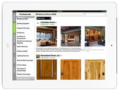 Houzz app 1 - for DWMM
