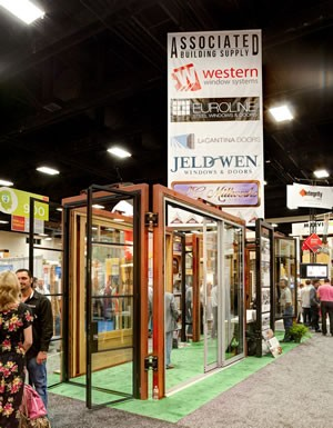 Associated Building Supply, a California dealer, showcased many products at PCBC.