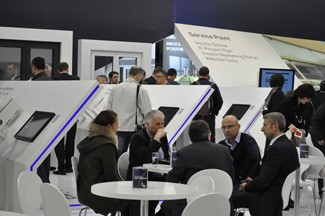 At the Deceuninck booth (pictured above)Tom Debusschere, Deceuninck CEO said Europeans are more focused on energy-efficient windows.