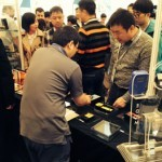 EDTM reported it saw a good flow of booth traffic during the China Glass Expo.