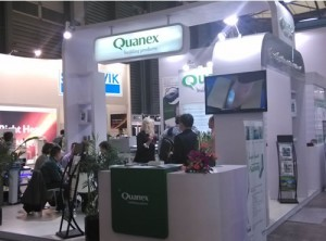 On just the first day of the show, Quanex officials said they had more than 30 leads.