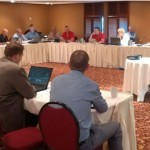 The first-ever Fabricator's roundtable was a great success and will likely be repeated at future meetings.