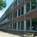 Capital City Charter School utilized triple-paned windows to make their school more passive.