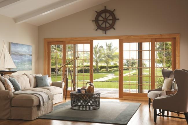 The cascading bi-parting Ply Gem Windows Mira Bi-Parting Door & Ply Gem Mira Premium Impact Series Bi-Parting Door | DWM Magazine