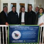 Thompson Creek CEO Rick Wuest joins together with Homes for Our Troops to supply veterans with housing essentials.