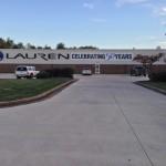 The Lauren Manufacturing plant in New Philadelphia, Ohio.