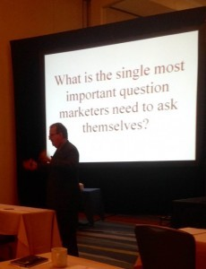 Ken Gronbach addresses the AAMA fall conference.