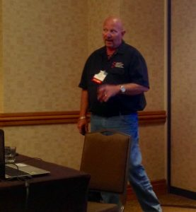 Safety expert Tony Samento gave a hard-hitting presentation at the recent Aluminum Extruders Council Management Conference in Washington, D.C.
